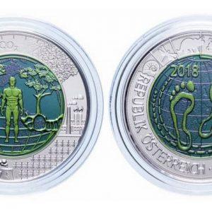 25 Austrian euros coins
