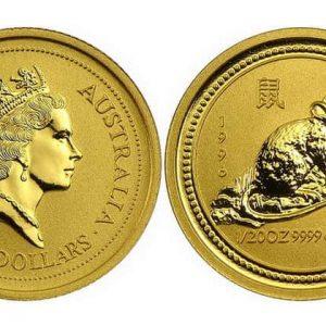 5 Australian dollars coins