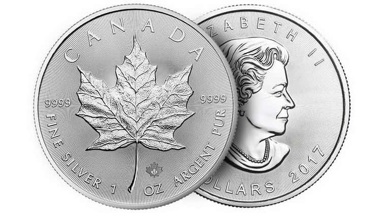 Silver Maple Leaf coin series