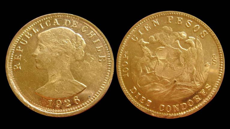 Chile Gold and Silver Coins