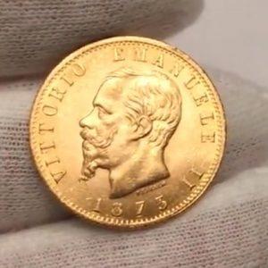 итальянские старинные лиры - монеты из серебра и золота