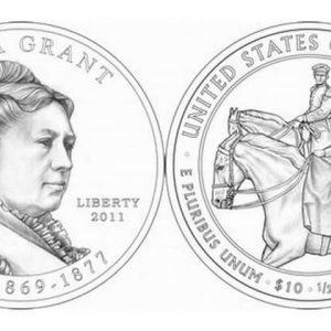 Серия монет Первая леди