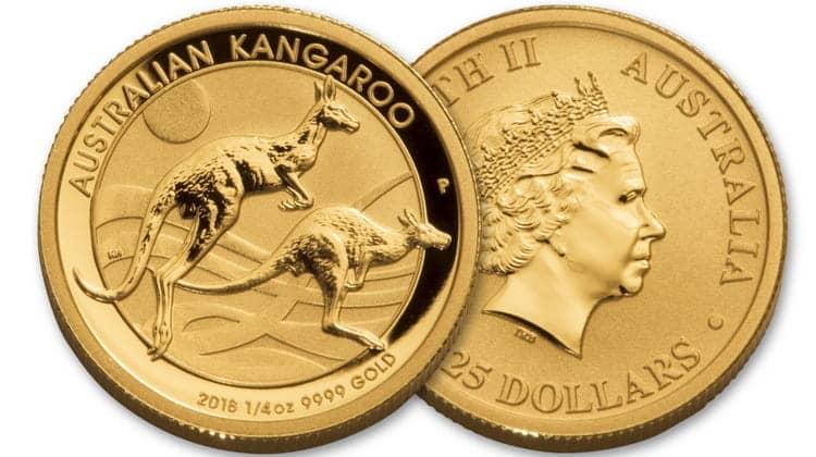 25 Australian dollars coins