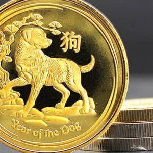 Золотые монеты Австралии Лунной серии