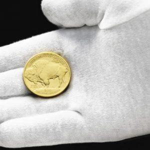 Золотая монета Американский буффало