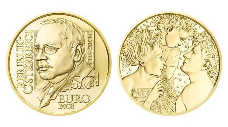 50 Austrian euros coins