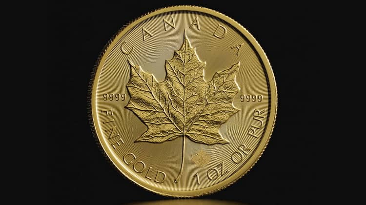 Gold Maple Leaf series coins