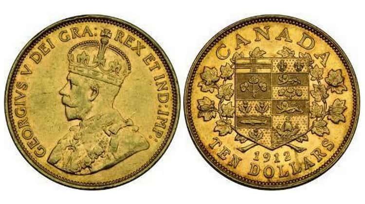 10 Canadian dollars (1912-1914)