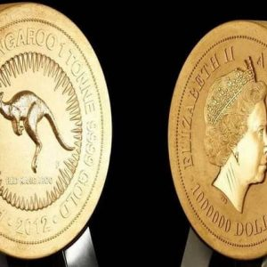 Australian coins of the Gold Nugget series