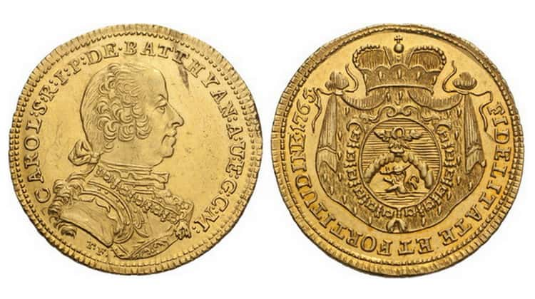 Hungarian ancient gold and silver coins
