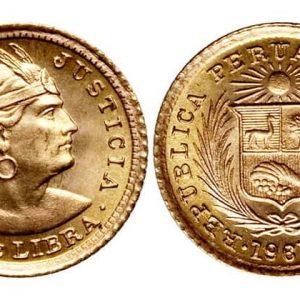 Перуанские монеты