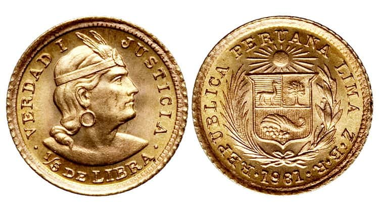 Gold and Silver Coins of Peru