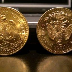 Мексиканские золотые монеты
