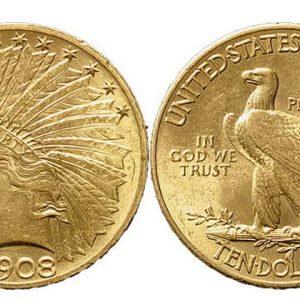 Монеты Pre-33 из золота
