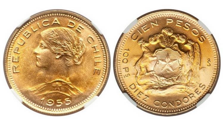 100 Chilean Pesos (1946-1980)
