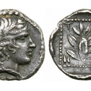 серебряная монета в древней греции