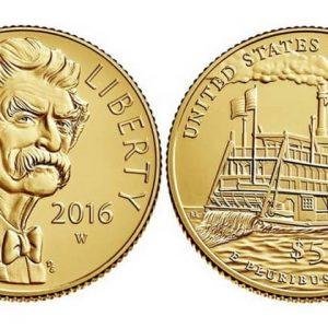Памятные золотые монеты США