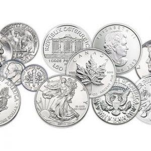 Памятные монеты Канады из серебра