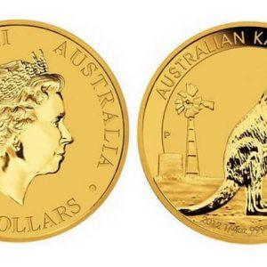 50 Australian dollars coins