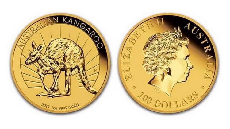 100 Australian dollars coins