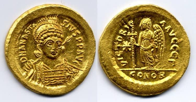 Solidus of Anastasius I