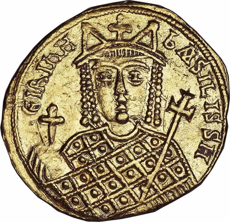 Solidus of Empress Irina