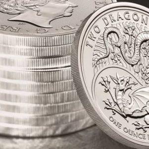 Лунная серия британских монет из серебра