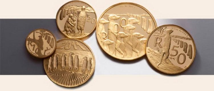 тип монет серии Природа