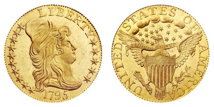 Five US dollars 1795-1807-min
