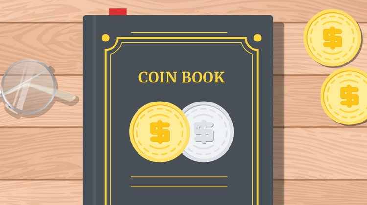 Catalogs of gold and silver coins of the world