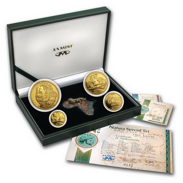 Набор монет серии Природа