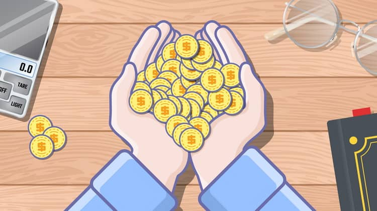 When buying and selling gold coins are profitable?