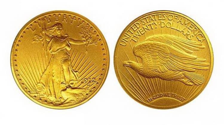 50 US dollars coins