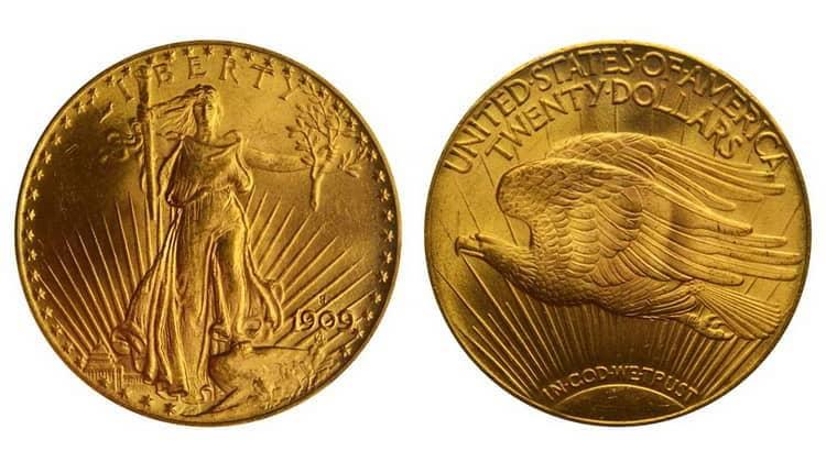 20 US Dollars Coins