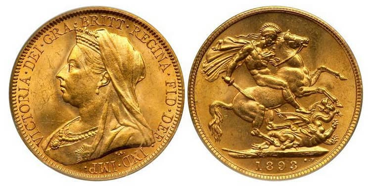 British Gold coins of Royal coinage