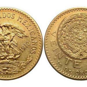 5, 10 ,20 мексиканских песо