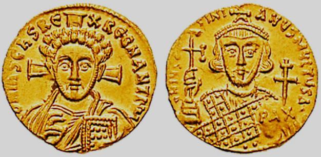Solidus of Justinian II