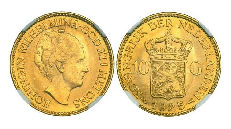 10 Dutch guilders (1875-1933)