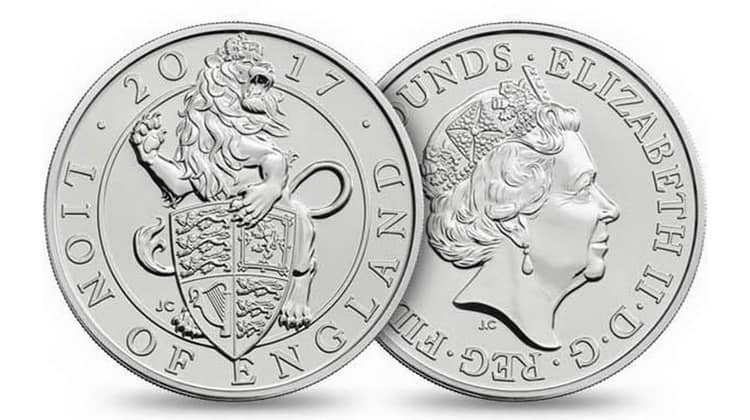 """Queen's Beasts"" Silver Coin Series"