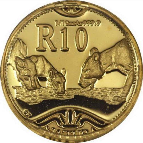 Монета «Лев», чеканка 2003 г.