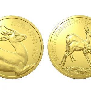 Монеты ЮАР из золота серии Природа