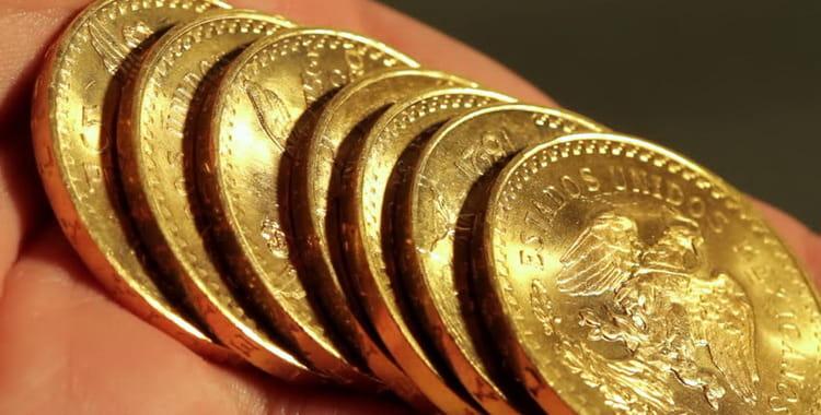 Ancient Gold Mexican Pesos (1959 & PRIOR)