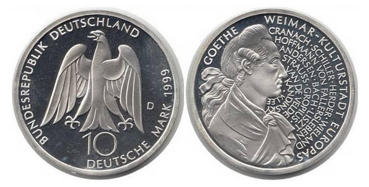 10 марок германия