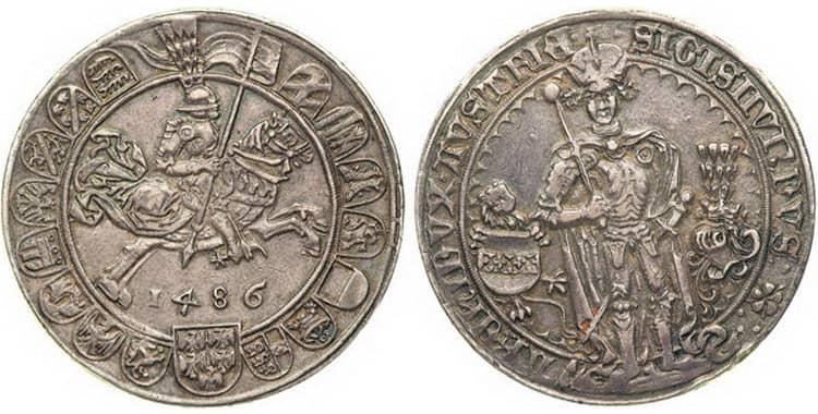 талер XV-XVII
