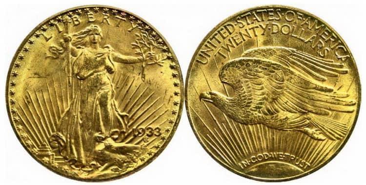 Известные поддельные золотые монеты