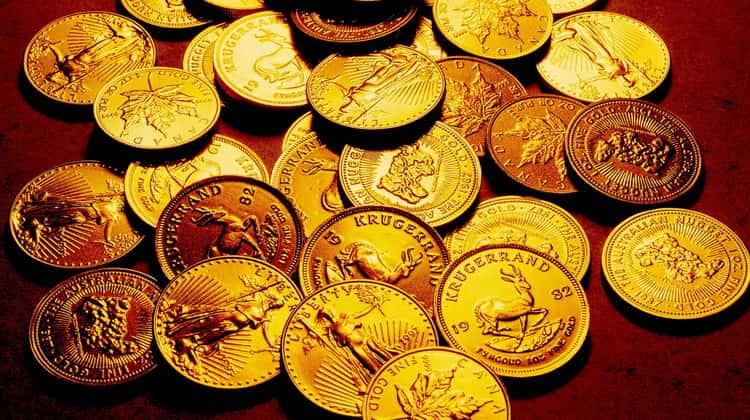 Лучшие золотые монеты
