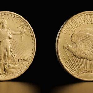 Монета Saint Godens
