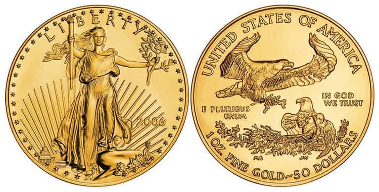 Gold Liberty Coin