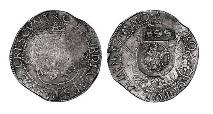 ефимок с признаком 1655 года цена