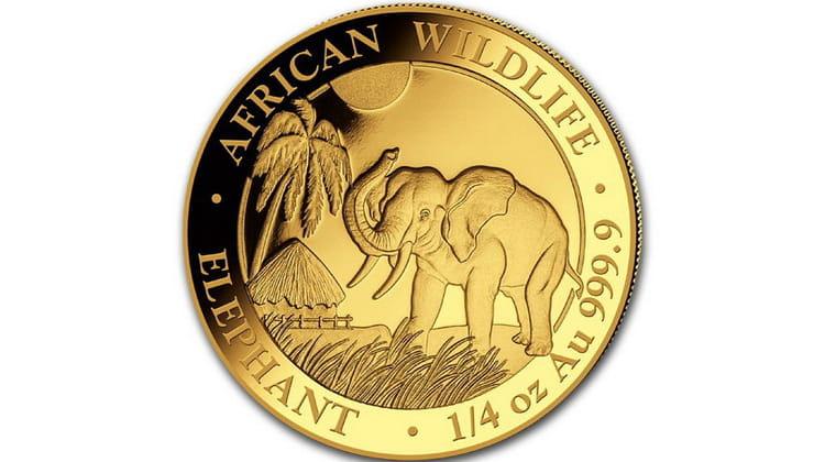 Монета ЮАР выпустил юбилейную золотую монету 2017 г.